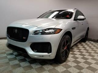 Used 2017 Jaguar F-PACE S AWD- 4yr/80000kms manufacturer warranty included until March 31, 2021! Original MSRP $87717! Local One Owner Trade In | No Accidents | Executive Demo | 3M Protection Applied | Upgraded Full Screen Navigation | Surround Camera System | Park Assist | Park for sale in Edmonton, AB