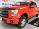 Used 2016 Ford F-150 3.5L V6 Ecoboost 4x4 Lariat! leather! sunroof! NAV! heated front and back seats! loaded to the rims for sale in Edmonton, AB