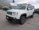 Used 2015 Jeep Renegade Limited - 4x4  leather  roof rack  bluetooth for sale in London, ON