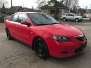 Used 2008 Mazda MAZDA3 ONE OWNER - NO ACCIDENT - SAFETY & WARRANTY INCL for sale in Cambridge, ON