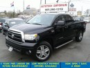 Used 2013 Toyota Tundra SR5 5.7L V8 4x4 Double Cab Leather/Camera &GPS for sale in Mississauga, ON