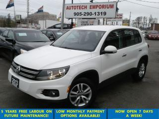 Used 2013 Volkswagen Tiguan Pearl White Auto/Alloys/ &GPS* for sale in Mississauga, ON