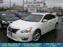 Used 2013 Nissan Altima SL Prl White Tech Navi/Leather/Blindspot/Sunroof for sale in Mississauga, ON