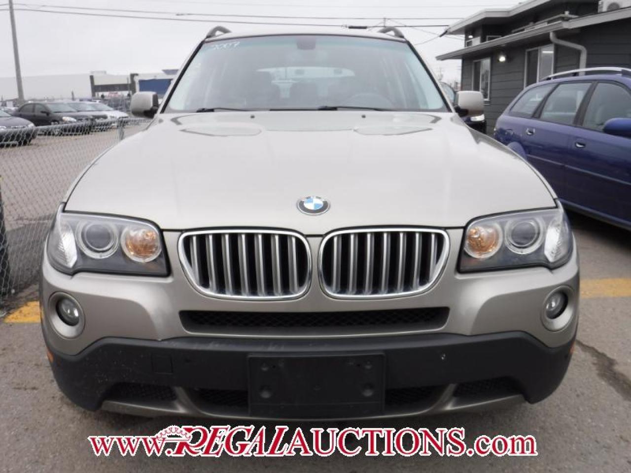 2007 BMW X3  4D UTILITY 3.0SI AWD