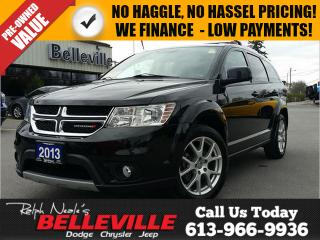 Used 2013 Dodge Journey Crew Model - Rear Seat DVD- Back UP CAM - 7 Passen for sale in Belleville, ON