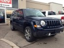 Used 2017 Jeep Patriot HIGH ALTITUDE SPORT 4X4 for sale in Milton, ON