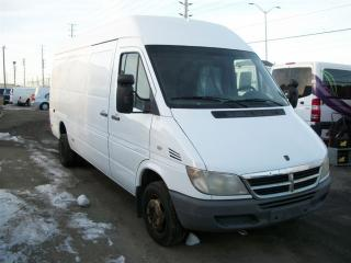 Used 2006 Dodge Sprinter 3500 High Roof dually diesel for sale in Mississauga, ON