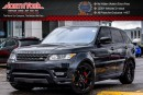 Used 2016 Land Rover Range Rover Sport V8 Supercharged|4x4|DrvrAsst,ClimatePkgs|Sunroof|Nav| for sale in Thornhill, ON