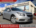 Used 2013 Chevrolet Cruze LT Turbo One Owner & Accident Free! for sale in Abbotsford, BC