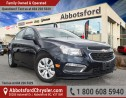 Used 2015 Chevrolet Cruze 1LT LOCALLY OWNED! for sale in Abbotsford, BC