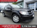 Used 2016 Dodge Journey CVP/SE Plus W/ POWER WINDOWS/LOCKS, KEYLESS GO & A/C for sale in Surrey, BC