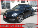 Used 2013 Volkswagen Beetle 2.0T Turbo NAVIGATION LEATHER SUNROOF for sale in Toronto, ON