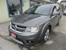 Used 2013 Dodge Journey LOADED R/T MODEL 7 PASSENGER 3.6L - V6.. AWD.. BENCH & 3RD ROW.. LEATHER.. HEATED SEATS.. NAVIGATION.. SUNROOF.. for sale in Bradford, ON
