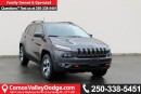 New 2017 Jeep Cherokee Trailhawk BLUETOOTH, HEATED SEATS, KEYLESS ENTRY, BACK UP CAMERA, TRAILER TOW PKG, SUNROOF, NAV READY, for sale in Courtenay, BC