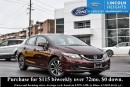 Used 2013 Honda Civic LX Sedan 5-Speed AT for sale in Ottawa, ON