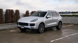 Used 2017 Porsche Cayenne Platinum Edition for sale in Vancouver, BC