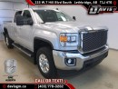 Used 2015 GMC Sierra 2500 HD SLE-Heated Leather Bench, Diesel, HD Trailering Package for sale in Lethbridge, AB