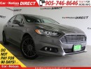 Used 2013 Ford Fusion SE| LEATHER| NAVI| SUNROOF| BACK UP CAMERA| for sale in Burlington, ON