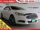 Used 2014 Ford Fusion Titanium| AWD| LEATHER| SUNROOF| for sale in Burlington, ON