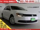 Used 2013 Volkswagen Jetta 2.0L Trendline| HEATED SEATS| OPEN SUNDAYS| for sale in Burlington, ON