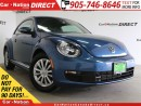 Used 2016 Volkswagen Beetle 1.8 TSI Comfortline| BACK UP CAMERA| TOUCH SCREEN| for sale in Burlington, ON