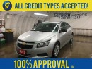 Used 2012 Chevrolet Cruze KEYLESS ENTRY*CRUISE CONTROL*ON STAR PHONE CONNECT*AM/FM/XM/CD/AUX*POWER WINDOWS/LOCKS* for sale in Cambridge, ON
