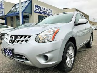 Used 2013 Nissan Rogue SV/BACK CAMERA/ALLOYS/BLUETOOTH/CERTIFIED for sale in Concord, ON