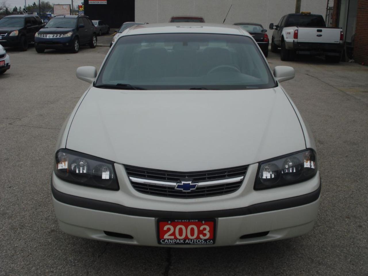 Photo of White 2003 Chevrolet Impala