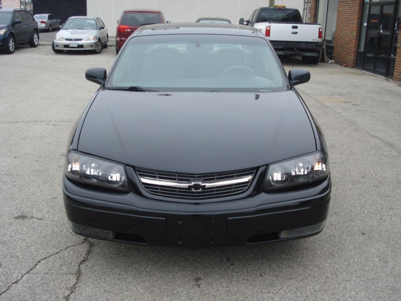 Photo of Black 2003 Chevrolet Impala