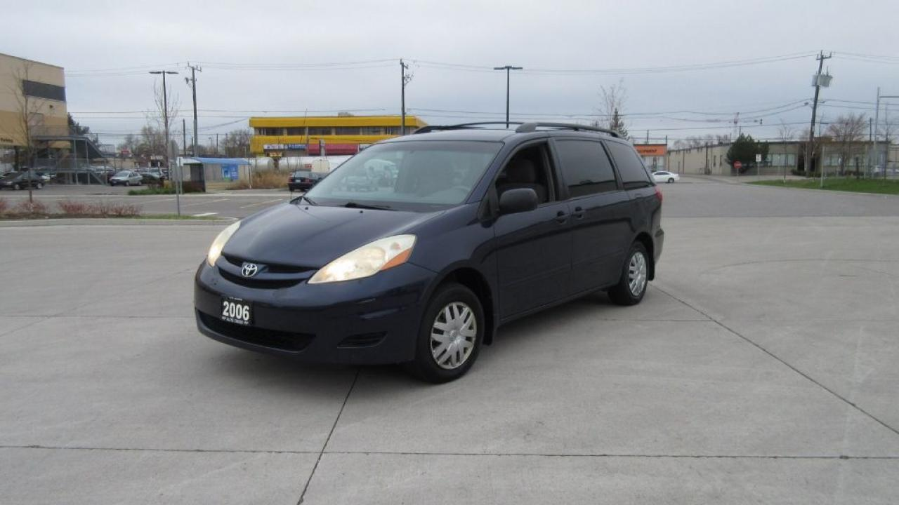 Photo of Blue 2006 Toyota Sienna DVD, Auto, 7 passenger, certified, 3 years warrant