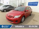 Used 2013 Toyota Corolla SUNROOF, ALLOY WHEELS, POWER OPTIONS. for sale in Edmonton, AB
