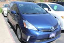 Used 2012 Toyota Prius v Bluetooth Backup Camera for sale in Brampton, ON