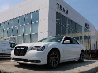 Used 2016 Chrysler 300 S, 3.6L V6, Leather, Navigation, Reverse Camera for sale in Edmonton, AB