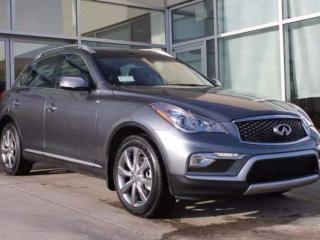 Used 2017 Infiniti QX50 Premium, Navigation Package 4dr All-wheel Drive for sale in Edmonton, AB