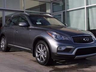 Used 2017 Infiniti QX50 EXECUTIVE DEMO for sale in Edmonton, AB