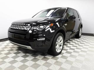 Used 2017 Land Rover Discovery Sport HSE - 4yr/80000kms manufacturer warranty included until March 30, 2021! | Locally Owned and Driven | Executive Demo | 3M Protection Applied to Front/Glass Roof | Navigation | Back Up/Front Camera | Reverse Traffic/Blind Spot/Closing Vehicle Sensors  for sale in Edmonton, AB