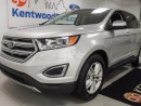 Used 2016 Ford Edge SEL AWD with heated seats, keyless entry, push start, and a dazzling silver colour for sale in Edmonton, AB