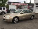 Used 2005 Honda Accord EXL/Automatic/Leather/Roof/Loaded/Certified for sale in Scarborough, ON