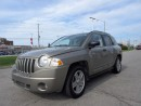 Used 2008 Jeep Compass Sport, North Eddition, Only 150 km for sale in Scarborough, ON