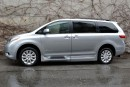 Used 2015 Toyota Sienna XLE BraunAbility Wheelchair Van for sale in Vancouver, BC