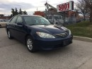 Used 2005 Toyota Camry LE,4CYLAUTO,S/ROOF,SAFETY 3YEARS WARRANTY INCLUDED for sale in North York, ON