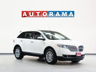 Used 2013 Lincoln MKX NAVIGATION BACKUP CAM LEATHER PANOM SUNROOF 4WD for sale in North York, ON