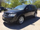 Used 2016 Dodge JOURNEY LIMITED * DVD * SUNROOF * REAR CAM * SAT RADIO SYSTEM for sale in London, ON