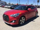 Used 2013 Hyundai VELOSTER TURBO * LEATHER * SUNROOF * NAV * REAR CAM * HEATED SEAT for sale in London, ON