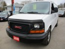 Used 2009 GMC Savana 1 TON WORK READY G3500 CARGO MOVER 2 PASSENGER 4.8L - VORTEC.. TOW SUPPORT.. TRACTION CONTROL.. AM/FM.. for sale in Bradford, ON
