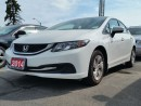 Used 2014 Honda Civic LX for sale in Brampton, ON