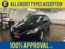 Used 2016 Nissan Altima S*BACK UP CAMERA*KEYLESS ENTRY*POWER DRIVER SEAT*PUSH BUTTON START*PHONE CONNECT*POWER WINDOWS/LOCKS/MIRRORS*FOG LIGHTS*AM/FM/CD/AUX/USB/BLUETOOTH* for sale in Cambridge, ON