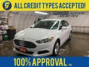 Used 2013 Ford Fusion NAVIGATION*BACK UP CAMERA*HEATED SEATS*SYNC BY MICROSOFT*BLUETOOTH PHONE/AUDIO*CD/MP3 W/USB INPUT*ECOBOOST*POWER DRIVER SEAT*POWER WINDOWS/LOCKS*POWER for sale in Cambridge, ON