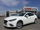 Used 2015 Mazda MAZDA3 GT - NAVI - LEATHER - SUNROOF for sale in Oakville, ON