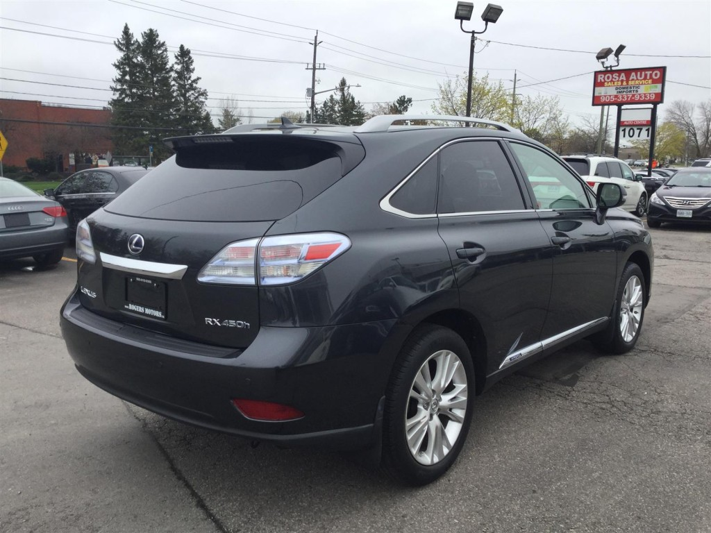 used 2011 lexus rx 450h awd hybrid navi reverse cam for sale in oakville ontario. Black Bedroom Furniture Sets. Home Design Ideas